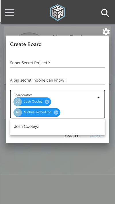 Create a Board and Invite Employees and Users